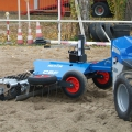 Multione-arena-harrow for mini loaders