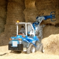 Multione-bale-grapple for mini loaders