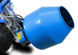 cement mixer attachment for mini loader multione