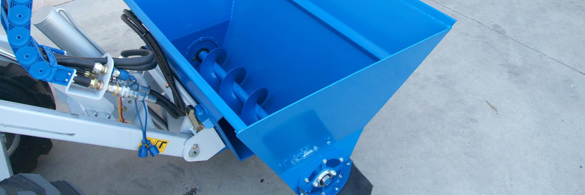 Multione-feed-dispenser for mini loaders