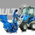 hydraulic-bio-shredder for mini loader