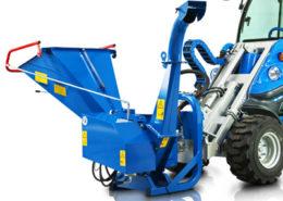 hydraulic bio shredder attachment for mini loader multione