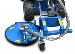 Multione-inter-row-mower-for mini loader