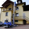 Multione-lifting-platform for mini excavator