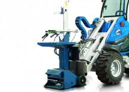 Log Splitter for mini loaders MultiOne