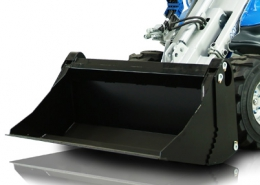 Multione-multipurpose-bucket for mini loader