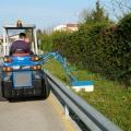 side-flail-mower for mini loader