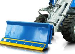 snow blade attachment for mini loader multione