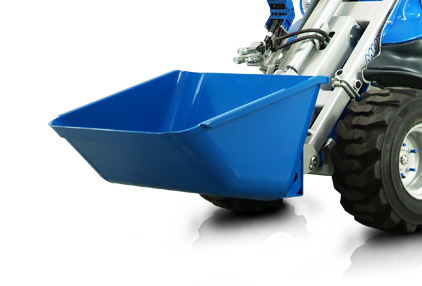 dumper attachment for mini loader multione