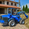 MultiOne mini loader 9 series with mini backhoe