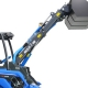 Articulated telescopic loader