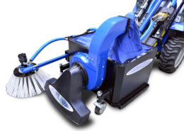 leaf vacuum attachment for mini loader multione