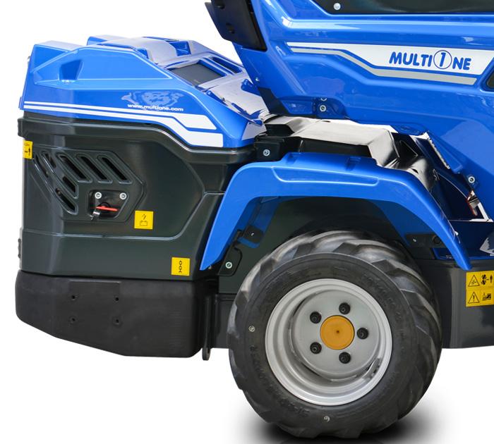 Mini loader Multione 7.2
