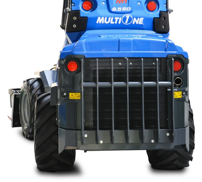 mini loader 9.5SD multione back