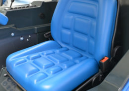 Ergonomic full adjustable spring seat
